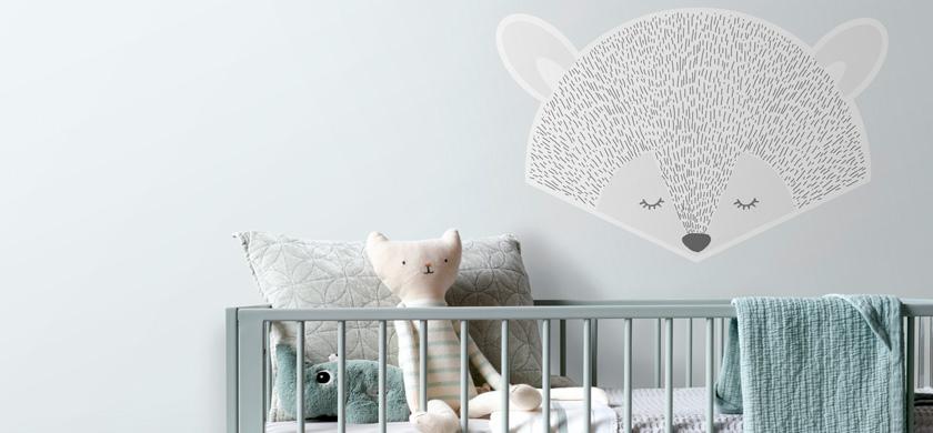 murales autoadhesivos para bebés