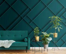 fotomural paneles de pared azul petroleo