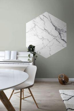 mural decorativo autoadhesivo comedor marmol blanco y negro 159026