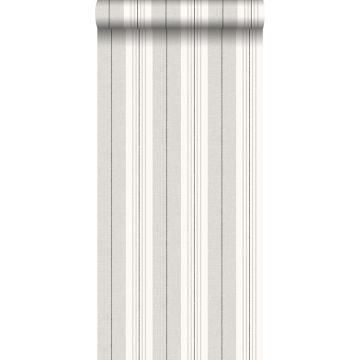 papel pintado rayas gris