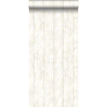 papel pintado madera de desecho blanco