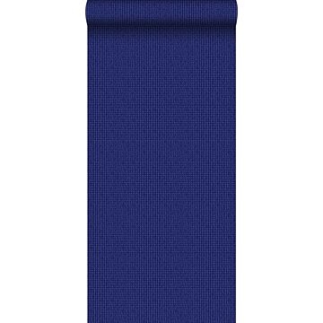 papel pintado bordado azul