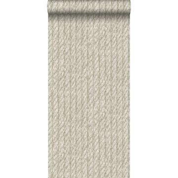 papel pintado cuerda beige