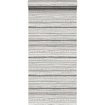 papel pintado cinta de encaje negro y blanco