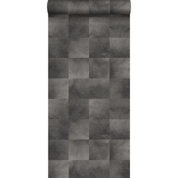 papel pintado piel de animal gris oscuro
