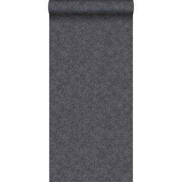 papel pintado liso negro
