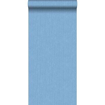 papel pintado textura denim azul
