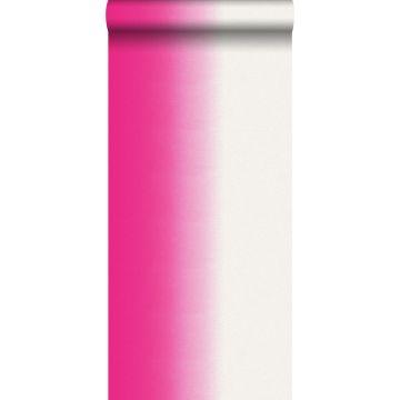 papel pintado dip dye tinte de inmersión rosa