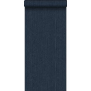 papel pintado liso con textura de tejido azul oscuro