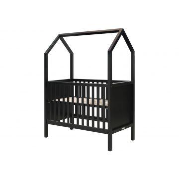 cuna My First House cama casita negro